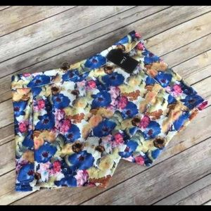 Pants - Floral skort sz S and L